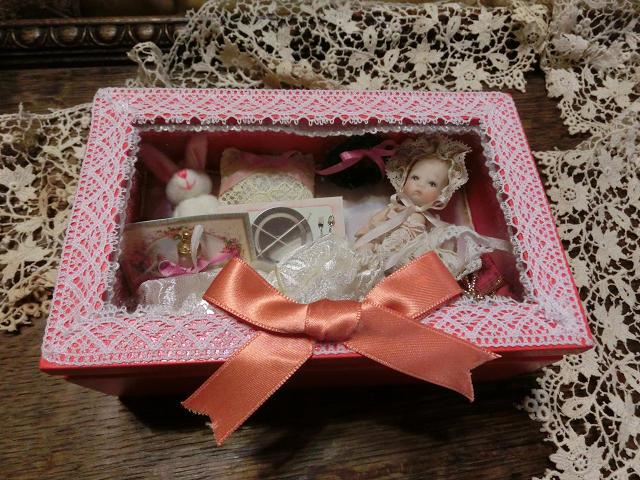 親指ベビー クリスマスボックス♪ レッド_c0229423_22164668.jpg