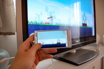 HDMIで「ARROWS V」をテレビにつなげるとハッピーになれる_c0060143_21261495.jpg