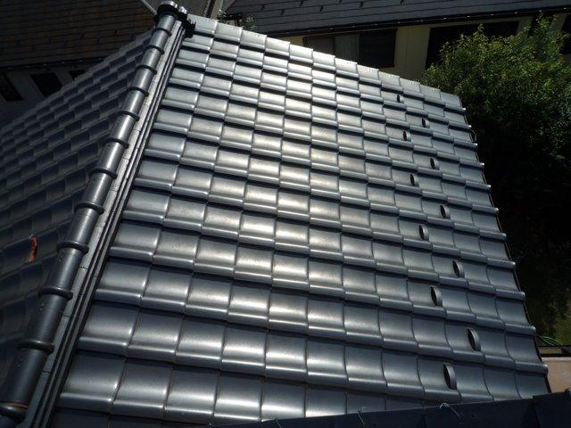 屋根の葺き替えとPanasonic太陽光発電設置(多摩市)_e0207151_17104779.jpg
