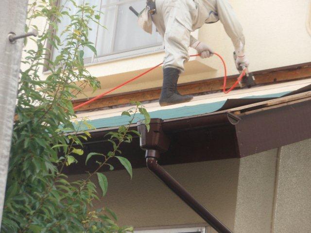 屋根の葺き替えとPanasonic太陽光発電設置(多摩市)_e0207151_1715180.jpg