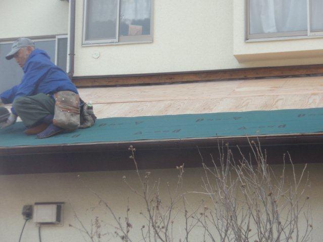 屋根の葺き替えとPanasonic太陽光発電設置(多摩市)_e0207151_17165741.jpg