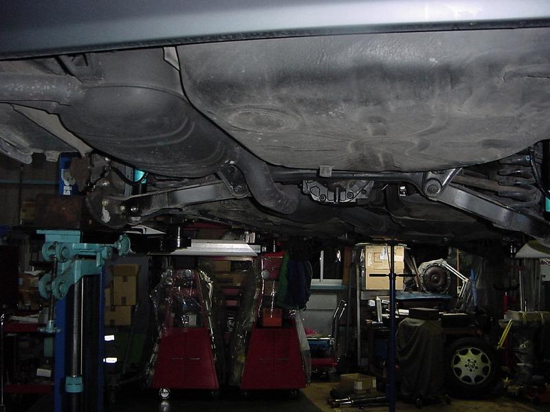 W124 作業工程(続き)_d0188275_18261750.jpg