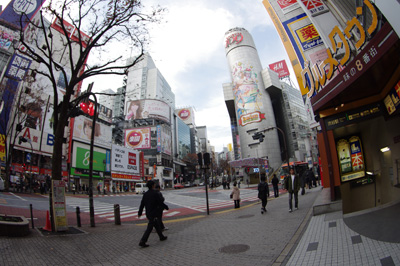 12月18日(火)の渋谷109前交差点_b0056983_1049113.jpg