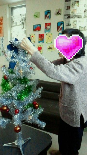 クリスマスツリー出しました。_c0205393_22295821.jpg