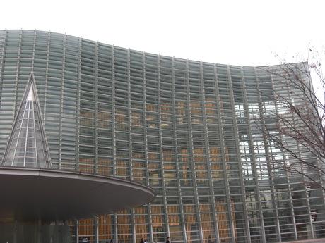 国立新美術館と武道館_b0209507_15293322.jpg