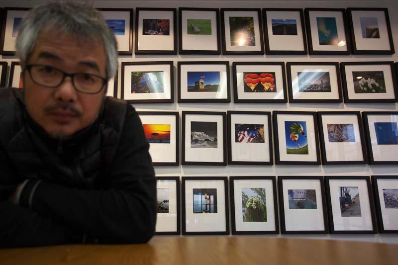 写真展会場にて_d0272207_2183924.jpg