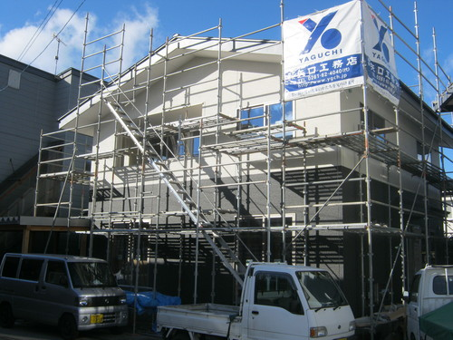 大町K邸新築工事 進行状況_c0218716_1635393.jpg