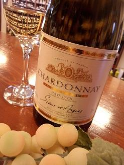 フランス シャルドネ 白 辛口ワイン・・・_a0254125_1582283.jpg