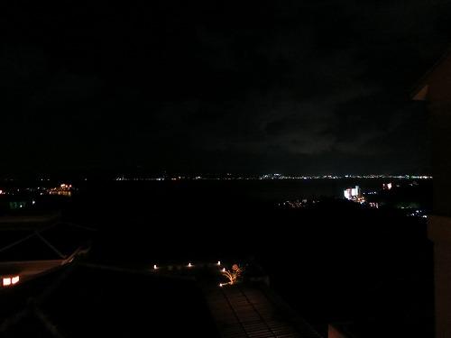 10月 リッツカールトン沖縄 夜のホテル内とルームサービス_a0055835_18245573.jpg