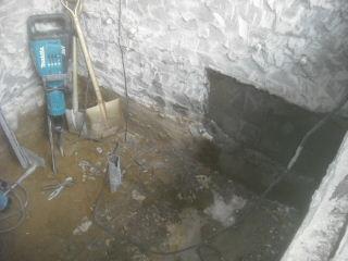 浴室解体工事2日目_f0031037_21522930.jpg