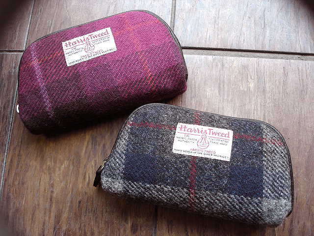 NEW : PETER JAMES [Harris Tweed] WALLET,PURSE & BAG !!_a0132147_21394548.jpg