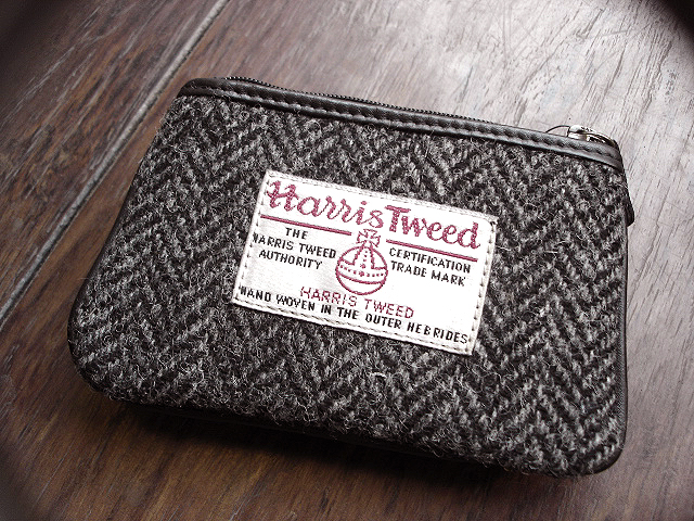 NEW : PETER JAMES [Harris Tweed] WALLET,PURSE & BAG !!_a0132147_21395411.jpg