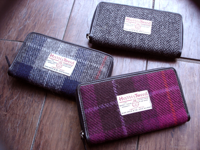 NEW : PETER JAMES [Harris Tweed] WALLET,PURSE & BAG !!_a0132147_21405423.jpg