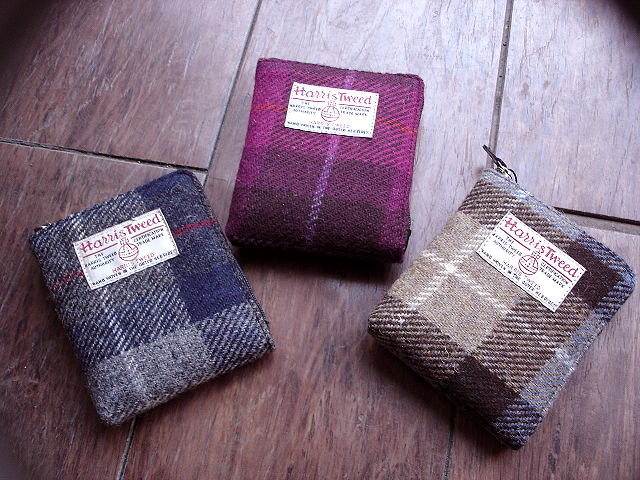 NEW : PETER JAMES [Harris Tweed] WALLET,PURSE & BAG !!_a0132147_21412891.jpg