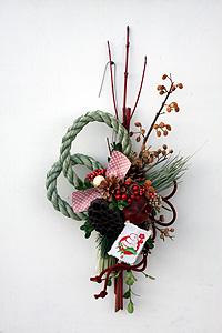 巳年の正月飾り_c0114811_2359287.jpg