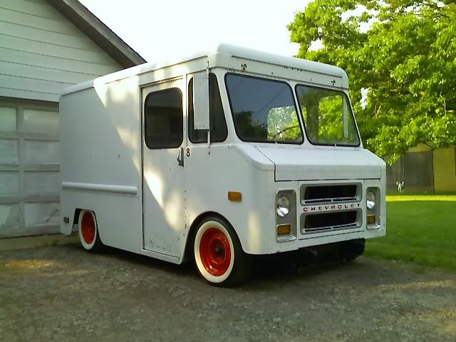 70 S Chevy Step Van Old Van Archives