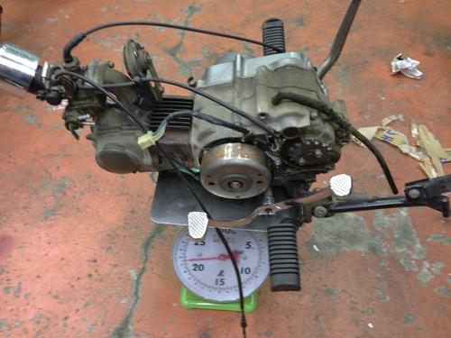 ヤフオク新品の悲劇なるか!?中華110ccエンジンを試してみる_a0164918_2125172.jpg