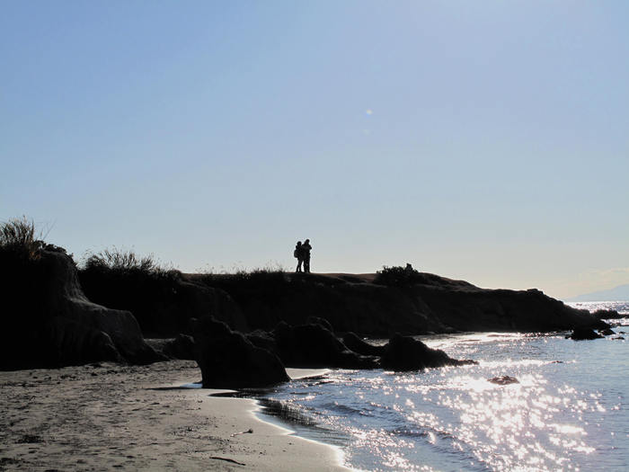 初冬の秋谷海岸散歩_d0150720_1043485.jpg