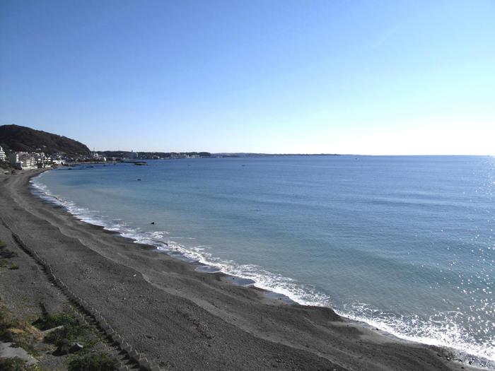 初冬の秋谷海岸散歩_d0150720_946269.jpg
