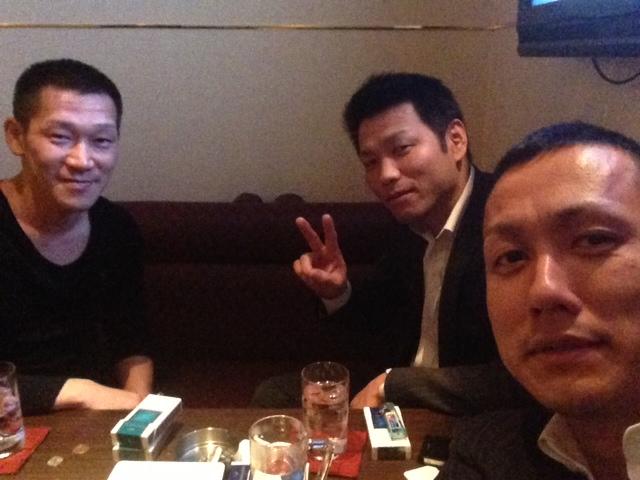 新堀社長とまさお社長と忘年会_b0127002_2182447.jpg