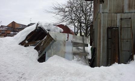雪の威力 南魚沼市_a0128408_19112871.jpg