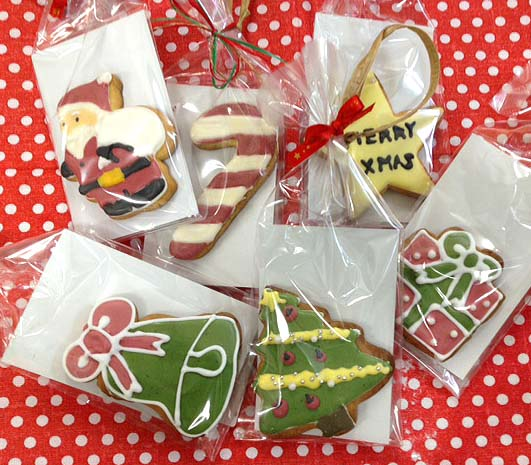 Xmasアイシングクッキー&ジンジャーブレッドクッキー_f0235809_2345842.jpg