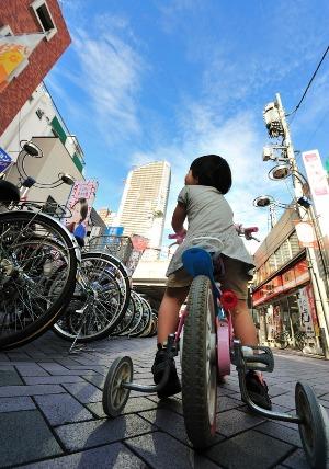 中原フォトコンテスト 優秀賞作品 風景変わるのかな 市川毅さん 武蔵小杉駅前で撮影
