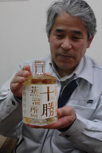 そば焼酎原酒「十勝蒸溜所2008」限定発売されます!さほろ酒造!_c0134029_14302852.jpg
