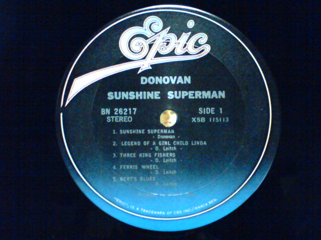 Sunshine Superman / Donovan_c0104445_22541714.jpg