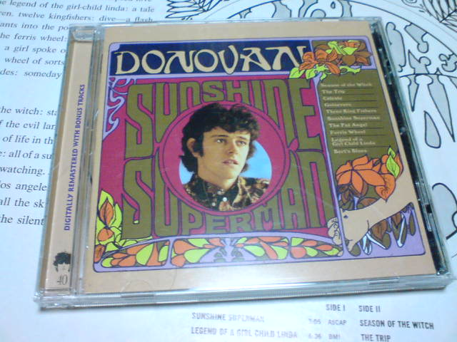 Sunshine Superman / Donovan_c0104445_22552263.jpg