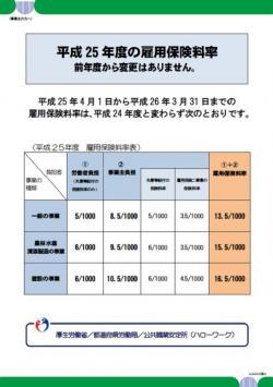 平成25年度の雇用保険料率が決定しました_c0105147_1045353.jpg