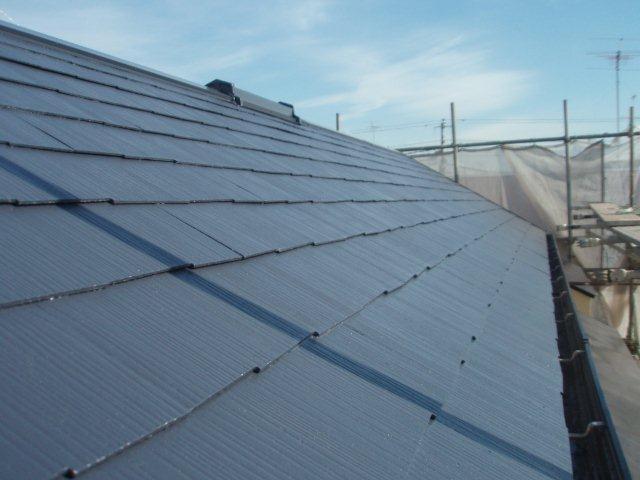 年内最後の、外壁・屋根塗替えが終了しました(三鷹市)_e0207151_15182455.jpg