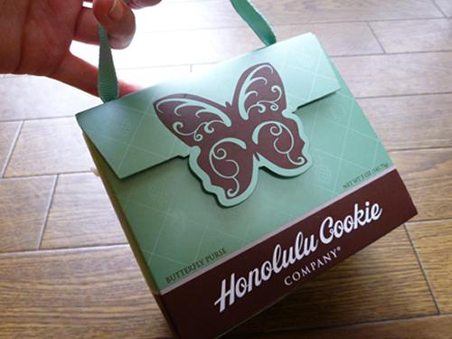 Premium Butterfly Shortbread Cookies Butterfly Purse@Honolulu Cookie Company_c0152767_2149715.jpg