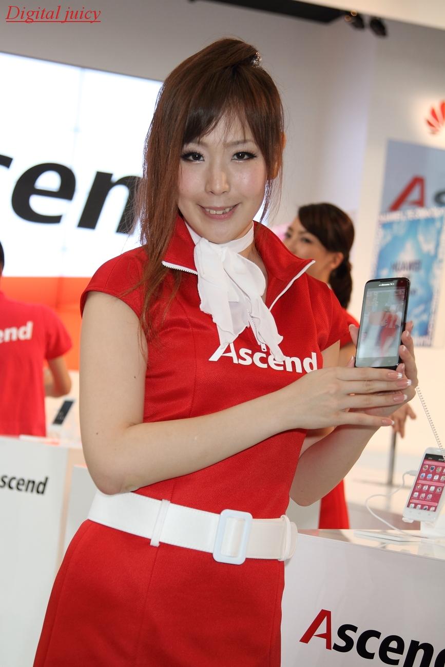 渡邊博子 さん(Huawei Technologies Co., Ltd. - ファーウエイ・テクノロジーズ(Huawei Japan) ブース)_c0216181_2210527.jpg