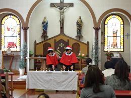 子育てひろばバンビーノのクリスマス会_c0212598_1735545.jpg