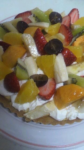 ケーキを作れる幸せ(^^)_a0113430_1158524.jpg
