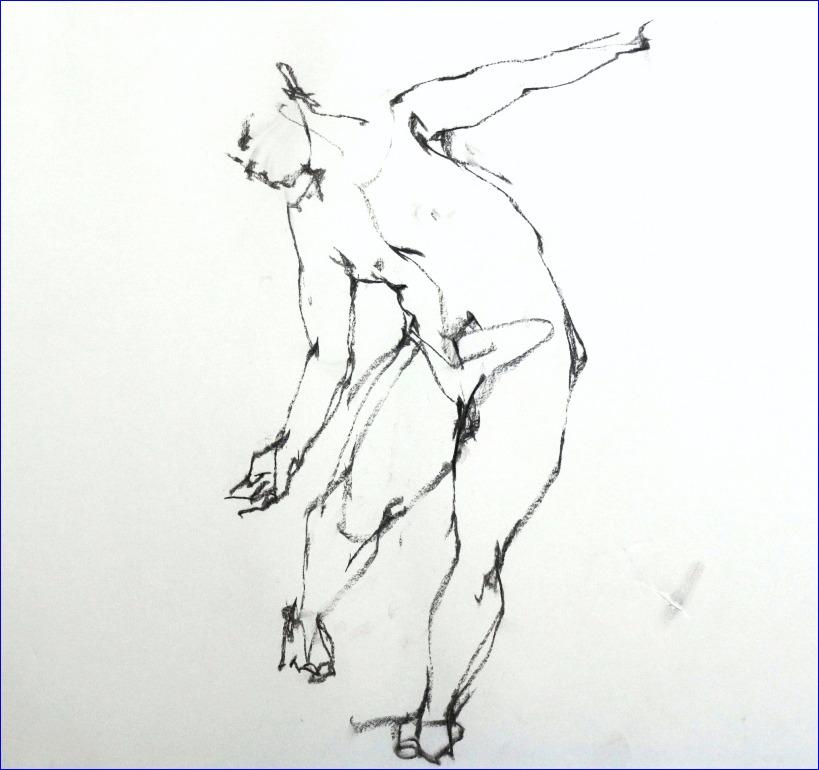 《 裸婦素描 》_f0159856_19362129.jpg