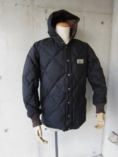 Crescent Down Works ・・・ 完全別注! HOODED QUILT DOWN JACKET!!_d0152280_23421965.jpg