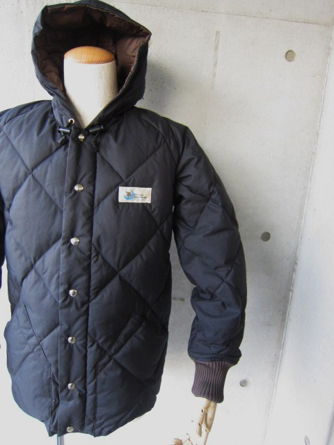 Crescent Down Works ・・・ 完全別注! HOODED QUILT DOWN JACKET!!_d0152280_23423257.jpg