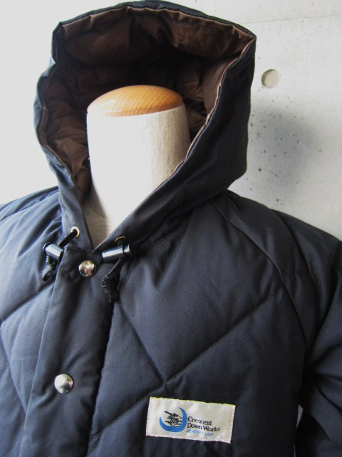 Crescent Down Works ・・・ 完全別注! HOODED QUILT DOWN JACKET!!_d0152280_23424491.jpg