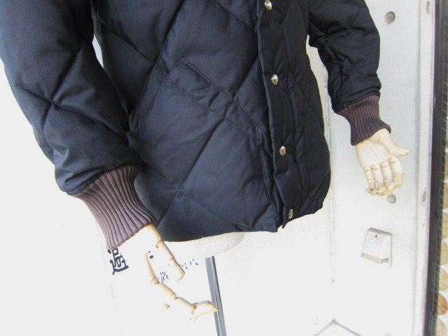 Crescent Down Works ・・・ 完全別注! HOODED QUILT DOWN JACKET!!_d0152280_23425672.jpg