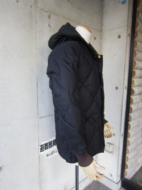 Crescent Down Works ・・・ 完全別注! HOODED QUILT DOWN JACKET!!_d0152280_23431763.jpg