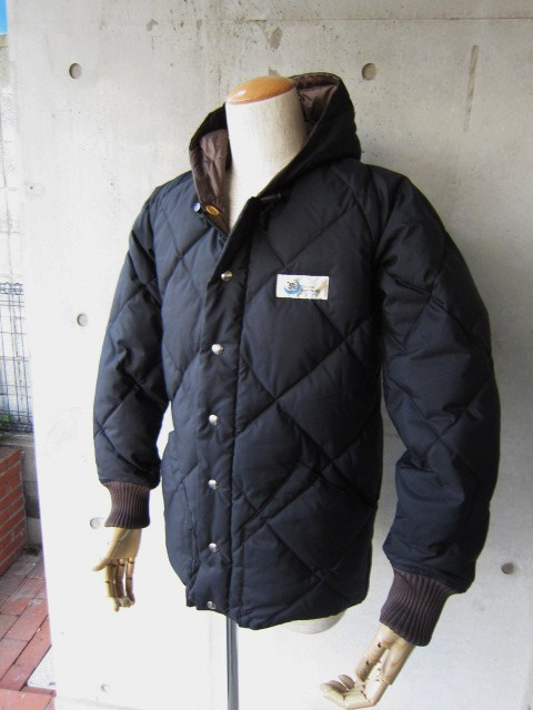 Crescent Down Works ・・・ 完全別注! HOODED QUILT DOWN JACKET!!_d0152280_234388.jpg