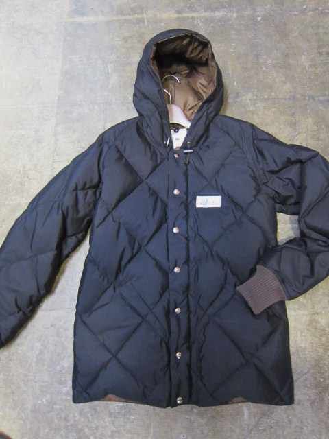 Crescent Down Works ・・・ 完全別注! HOODED QUILT DOWN JACKET!!_d0152280_23442991.jpg