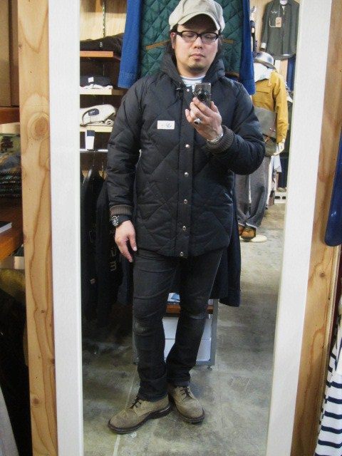 Crescent Down Works ・・・ 完全別注! HOODED QUILT DOWN JACKET!!_d0152280_2345415.jpg