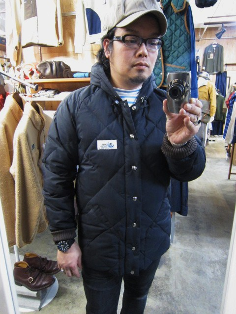 Crescent Down Works ・・・ 完全別注! HOODED QUILT DOWN JACKET!!_d0152280_23461520.jpg
