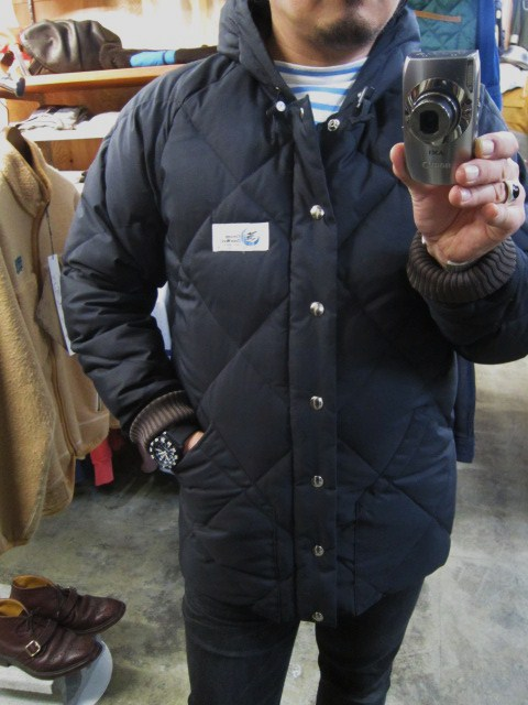 Crescent Down Works ・・・ 完全別注! HOODED QUILT DOWN JACKET!!_d0152280_23463138.jpg