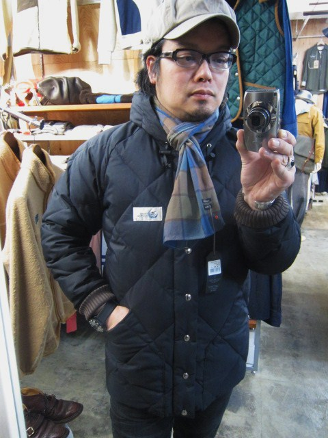 Crescent Down Works ・・・ 完全別注! HOODED QUILT DOWN JACKET!!_d0152280_2347793.jpg
