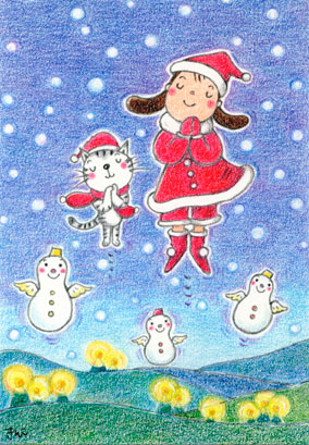 クリスマスイラスト_f0043592_10204631.jpg