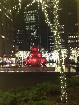 ニューヨーク☆クリスマスシーズンの夜景☆_f0095325_1352180.jpg